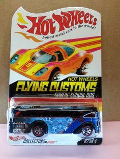 Hot Wheels 2003 RLC Red Line Club Series 2 Flying Customs Surfin School Bus