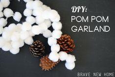 1 - DIY Pom Pom Garl