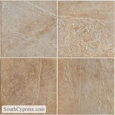 "Serengeti Slate 12"" x 12"" - Ivory Tusk By SouthCypress.com"