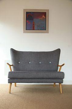 Retro Vintage Sofa 60s 7...