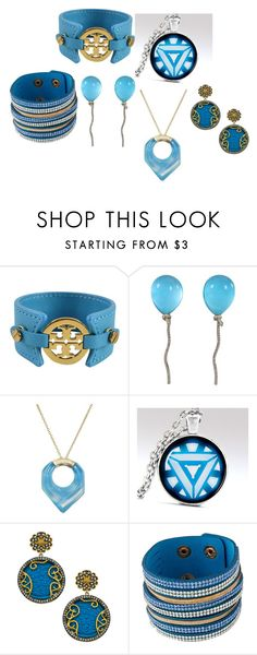"""""""67"""" by lena11808 on Polyvore featuring мода, Tory Burch, Vhernier, Alexis Bittar, Reactor и Belsi's Collection"""