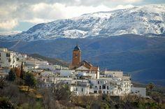 Pueblo de las Alpujarras. Granada. Spain. Foto: Alpha Lyrae.