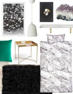 Dorm Style: Moody Modern Luxe for Under $300