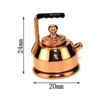 4Pcs Dollhouse miniature food glass jar cork bottle kitchen decor 1//12 EP