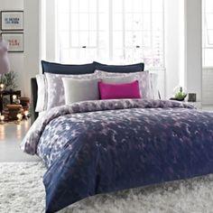 Kenneth Cole Reaction®Home Rain Duvet Cover - BedBathandBeyond.com