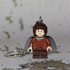 Frodo Baggins LEGO key chain by boxhounds on Etsy, $12.00