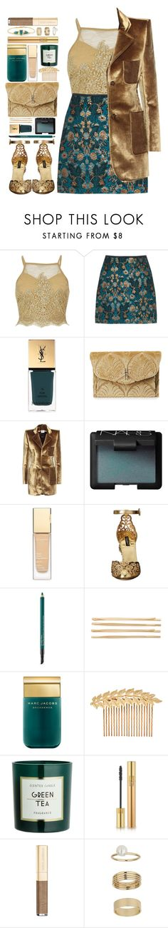 """""""#1036 Grazziela"""" by blueberrylexie ❤ liked on Polyvore featuring River Island, Yves Saint Laurent, Hayward, Vetements, NARS Cosmetics, Clarins, Dolce&Gabbana, Estée Lauder, Cara and Marc Jacobs"""