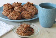Cookies aux deux chocolats et aux amandes - Ma petite cuisine gourmande sans gluten ni lactose Sans Gluten Ni Lactose, Gateaux Vegan, Cookies, C'est Bon, Pain, Muffin, Meat, Chicken, Breakfast