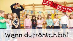Wenn du fröhlich bist - Singen, Tanzen und Bewegen || Kinderlieder - YouTube Youtube, Videos, Popular Kids Songs, Kids Dancing, Lyrics, Gossip, Video Clip