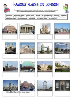 Famous places in London