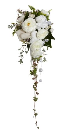 Timeless bouquet with OASIS Mega Beaded Wire and Lace Wrap