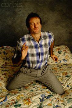 Robin Williams ca. 1987 © Alan Levenson/Corbis