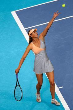 f5d8117ebf0 Maria Sharapova's Nike dress for the Australian Open 2011 Tennisjurk, Tennis  Kleding, Nike Tennis