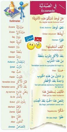 Arabic Sentences, Arabic Phrases, Turkish Lessons, Arabic Lessons, English Language Course, English Language Learning, Learn Turkish Language, Arabic Language, English Study