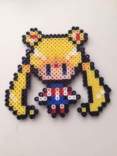 Sailor moon Hama beads