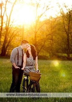 would love a picture of me and Shawn like this...maybe with Shawn holding Lorelai and Chuck in the basket :)