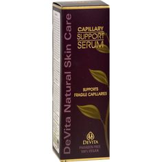 Devita Natural Skin Care Capillary Support Serum - 1 oz