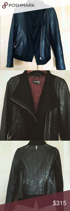 Mackage pebbles leather jacket Leather jacket by Mackage. A little bit small on me so I only wore it once or twice! Perfect condition. Retailed around $650+ Mackage Jackets & Coats