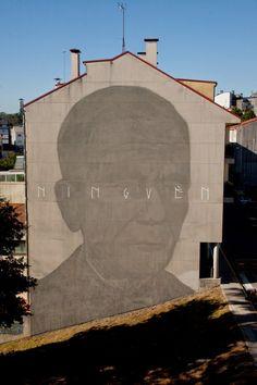 Axel Void New Mural - Ordes, Spain