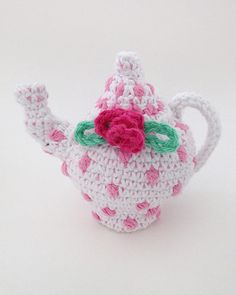 PB204 Polka Dot Tea Set with Picnic Basket Tea parties and picnics can be so much fun! With the new Polka Dot Tea Set With Picnic Basket, your little one can enjoy both at the same time! This intermediate skill crochet pattern uses Premier Home Cotton Yarn and can be crocheted in no time! http://www.maggiescrochet.com/products/polka-dot-tea-set-with-picnic-basket-crochet-pattern