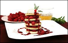 Buttermilk Pancakes With Drunken Raspberries Recipe Details | Recipe database | washingtonpost.com