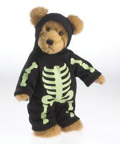Loving this Halloween Skeleton Collector Bear on #zulily! #zulilyfinds