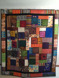African Quilt - Why Not Africa.... $3,000.00, via Etsy.