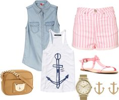 Sailor #fashion #anchor #womensfashion #summer