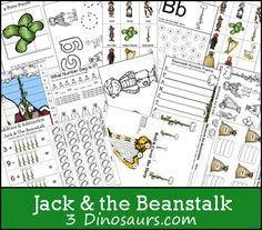 Download this free Jack & the Beanstalk Printable Pack.
