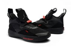 b6f27e3e6c909f 2018 Newest Air Jordan 33 Shoes Black University Red-4 Air Jordan Sneakers