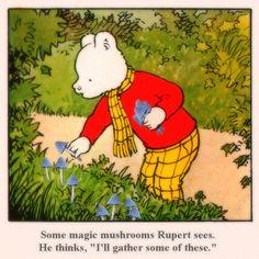 Rupert Bear Wallpaper