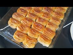 East Dessert Recipes, Cake Recipes, Desserts, Diy Food, Youtube, Ethnic Recipes, Form, Arabic Sweets, Flaky Pastry