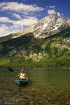 Kayaking Jenny Lake Photos
