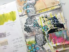 Repeating elements in artjournaling -DLPFeb21 - Roben-Marie Smith