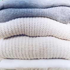 """Knits on knits on knits. Thank gawd it's sweata weatha. All of these are buy one get one 50% off w/ code COZY4U Shop them all at www.liketk.it/1NlDu…"""