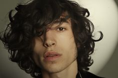 The cheekbones, the hair, those deep, dark eyes... Ladies and fellow gentlemen, I present for your appreciation and adoration, the irresistible Ezra Miller. - Imgur