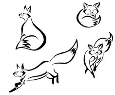easy drawings of fox | fox tribals 2 by majykal melodi scraps 2011 2013 majykal melodi more ...