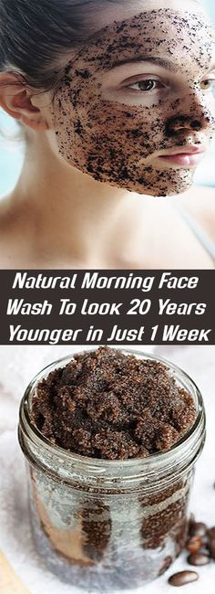 Natural Morning Face Wash To Look 20 Years Younger in Just 1 Week – Let's Tallk