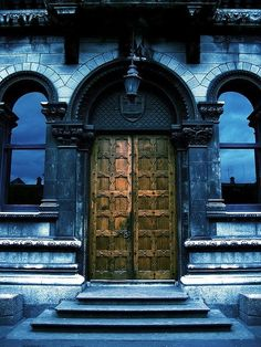 Puerta neoclásica