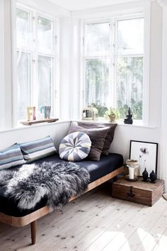 Perfect spot for a relax // Shop 100% Bamboo Eco-friendly Bedding & Apparel xx www.yohome.com.au