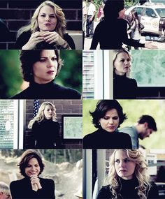 OUAT Swan Queen sharing the black turtleneck...