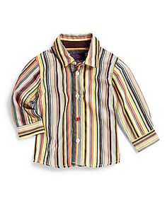 Paul Smith Infant's Ebow Striped Shirt