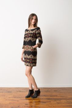 Pendleton Portland Collection | Fall 2013... Every cute dress should be required to have POCKETS!