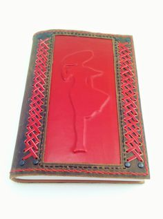 Leather bound gratitude journal blank book for mom leather notebook for womens Leather Books, Leather Notebook, Journal Design, Book Design, Handmade Diary, Leather Sketchbook, Embroidery Leaf, Leather Bound Journal, Leather Diary