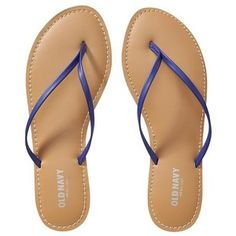 02fc5b90944 Old Navy Womens Faux Leather Capri blue Sandals. Love! Love! Love! Navy