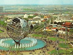 1964 World's Fair. Queens, New York. A wonderful event I was 9 yrs old and still recall it