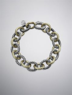 David Yurman   Women   Bracelets: Large Oval Link Chain Bracelet