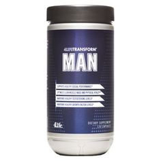 4LifeTransform® Man-Description Support for sexual performance and healthy aging*  Primary support: Sexual Performance & Vitality* Secondary support: Endocrine Support, Sports Performance, Healthy Aging, Heart Health, Muscle, Bone, & Joint Health*