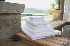 Chic and classic, these beautiful towels were created to complement any bathroom style, from super-modern to ultra-classic. Little compares to them in terms of quality, durability, and absorbency.