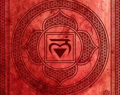 Seven Chakra Archival Print Set: Seven 10x10 by KelbyPruchnick